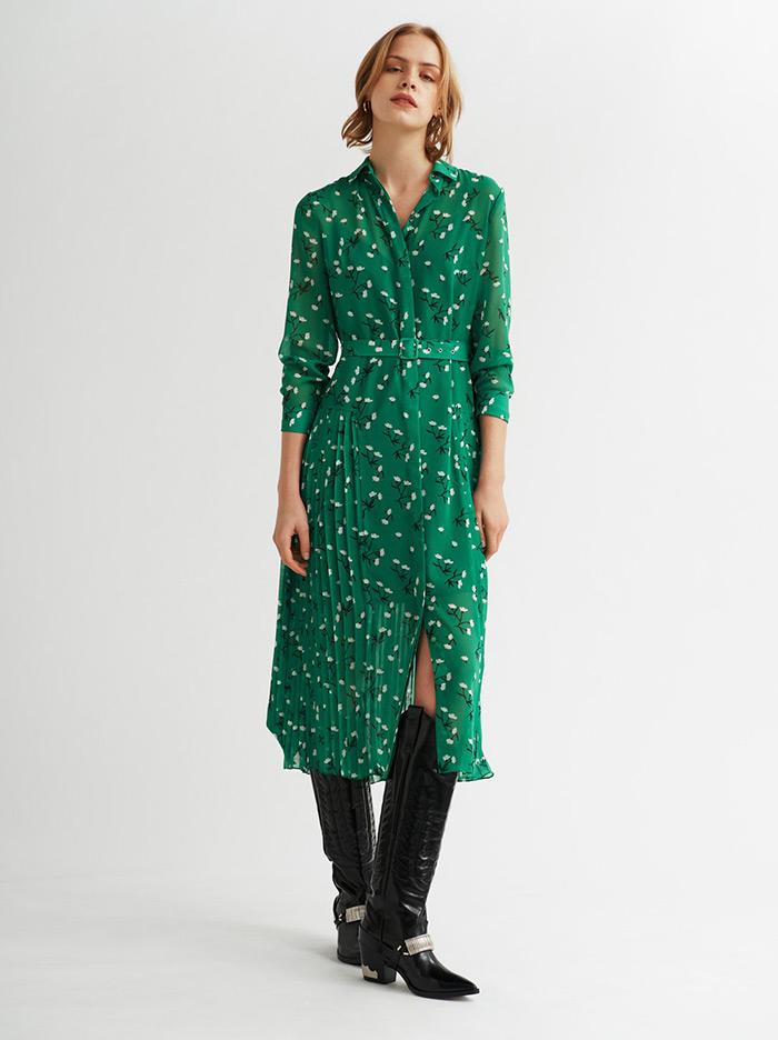 Kitri zelena haljina hit street style