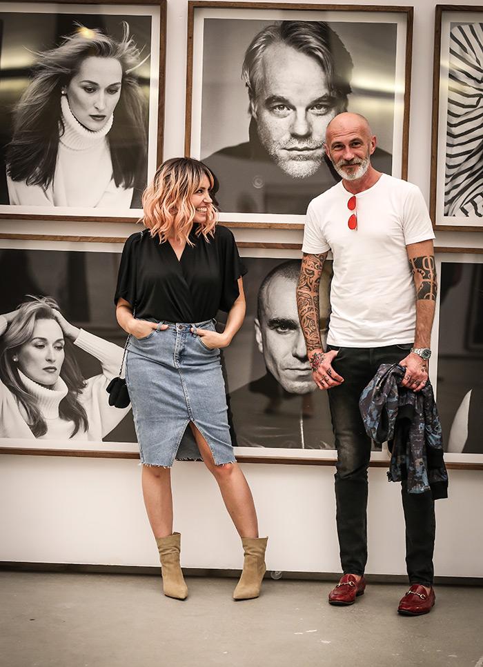 Izložba Cinema Portraits Zagreb Brigitte Lacombe, Ana Josipović i Alen Kolbas
