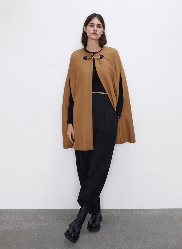 Zara pelerina kaput moda zima 2019