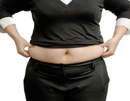 Clothes to hide belly fat