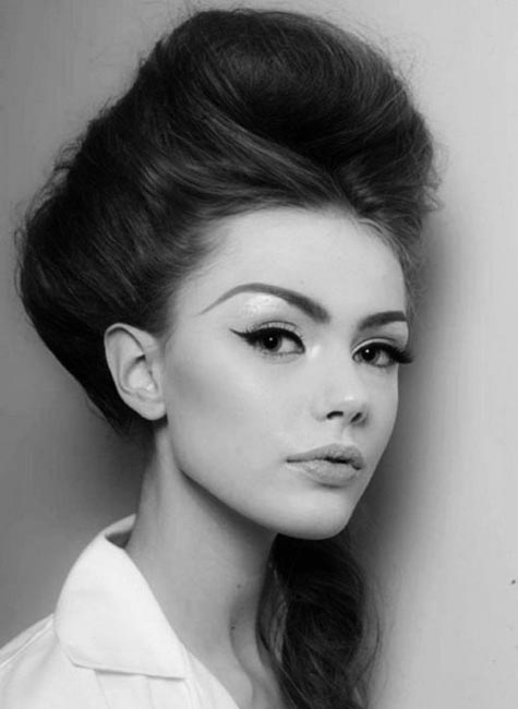 60s Beehive hair