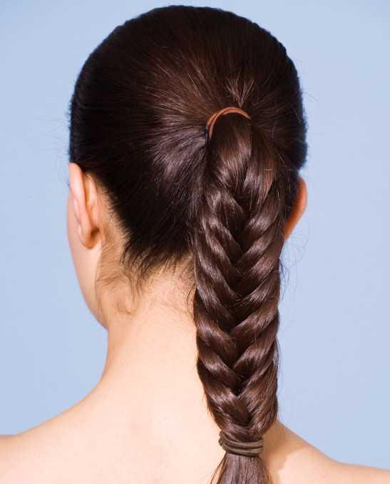Braided Herringbone Hairstyle 2016