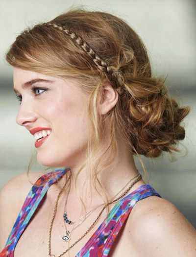 Braided Twisted Chignon 2016