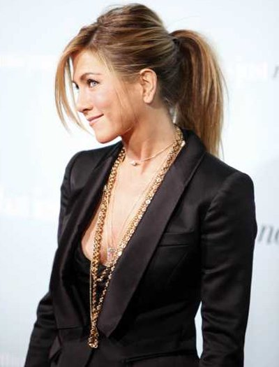 Jennifer Aniston High Ponytail