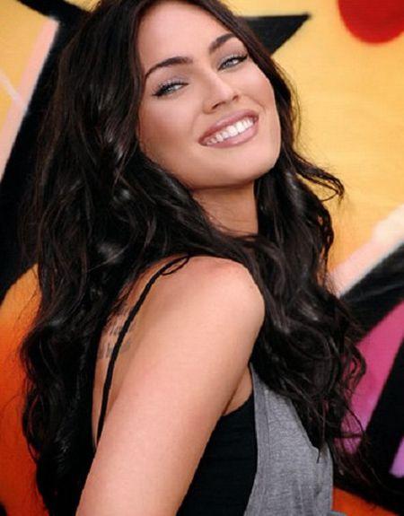 Megan Fox straight hair