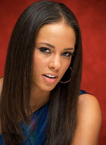 Black Women long Straight hair