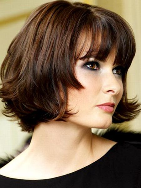 Cute Long Bob for short hair