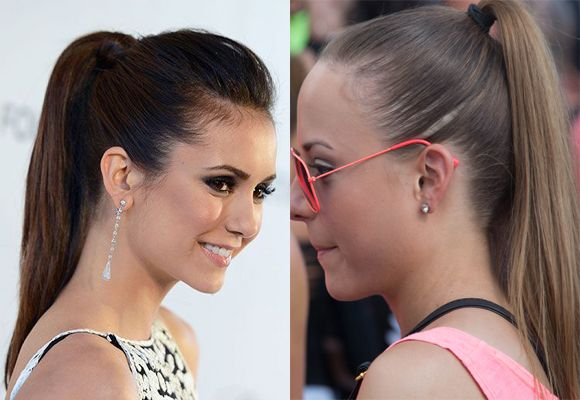Ponytails hairstyles for women