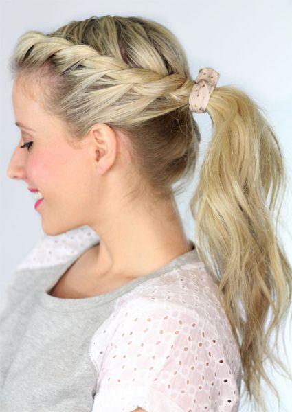 quick & easy hairstyles school