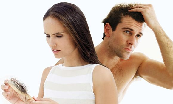 Causes of Hair loss in women and men