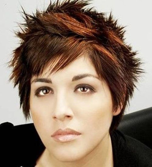 Chic pixie with spikes