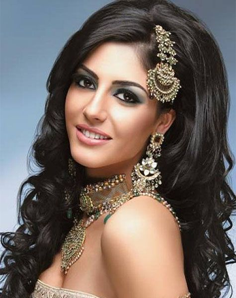Eastern bridal hairstyles