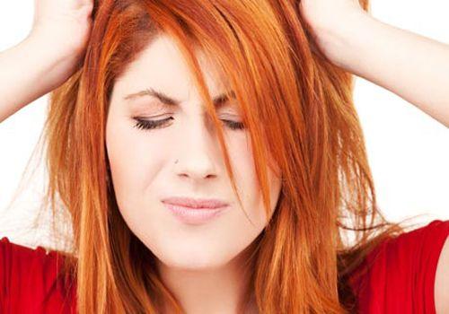 Hair loss by Stress