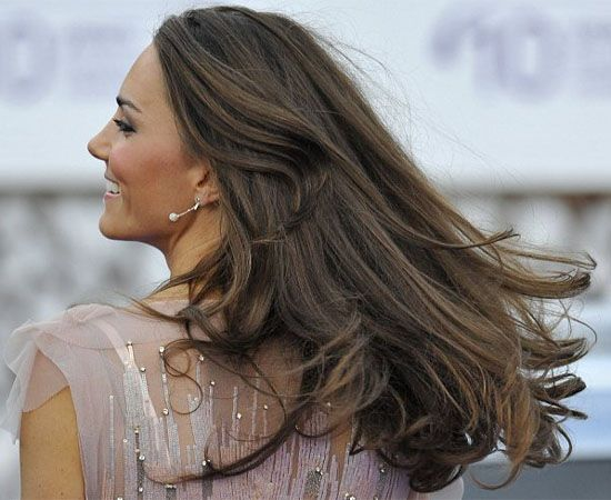 Kate Middleton Layers for Long hair