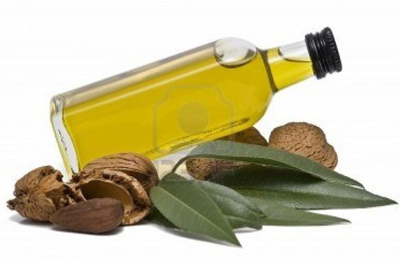 Lips care with Almond Oil