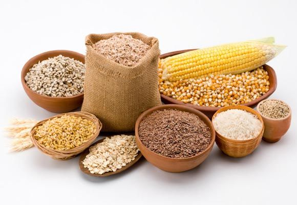 Plenty of fibers and whole grains