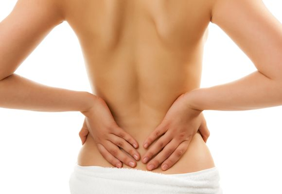 lower back pain by Muscle Strain