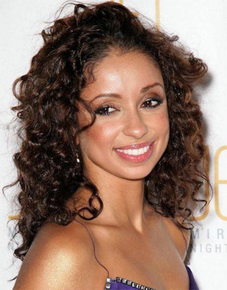 medium length Dimensional curls