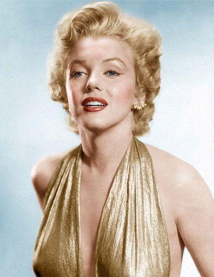 Marilyn Monroe Tousled Hair Look