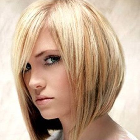Straight and Angled Choppy Bob Haircuts