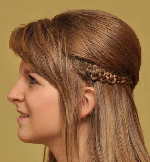Long Haircuts with Bangs and Braids 2015