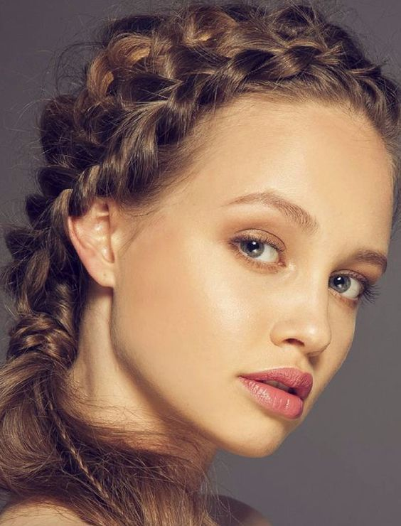 Loose Ponytail Braided Hairstyle 2018