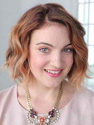 Short Wavy Bob Hairstyle Ideas in 2018