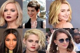 Famous Celebrity Short Haircuts 2018