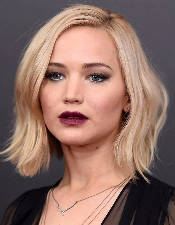 Jennifer Lawrence's Short Hair Looks 2018