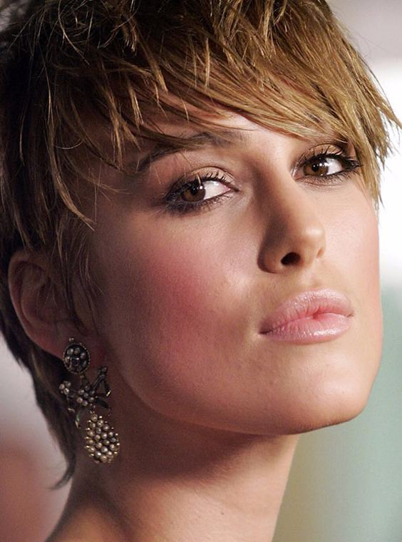 Keira Knightley's Short Haircuts for 2018
