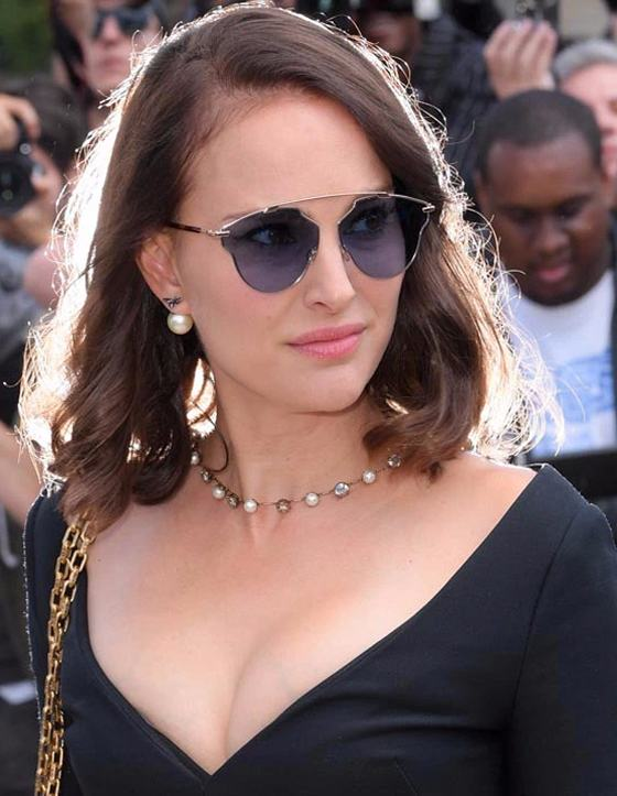 Natalie Portman's Short Hairstyle 2018