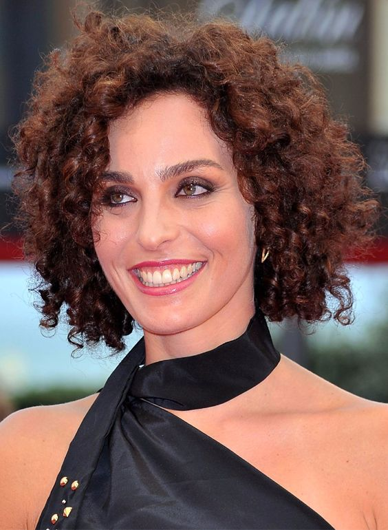 Short Naturally Curly Hair for Women Over 50