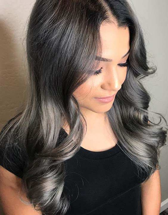 Metallic Reflections Hair Colors for 2018