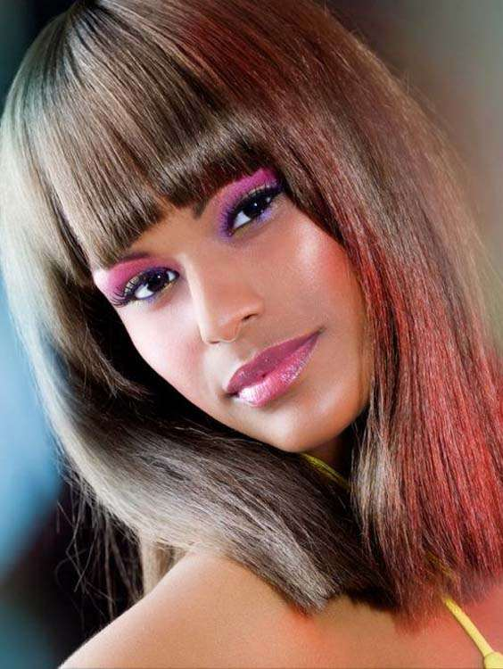Summer Bob Hairstyles with Bangs in 2018