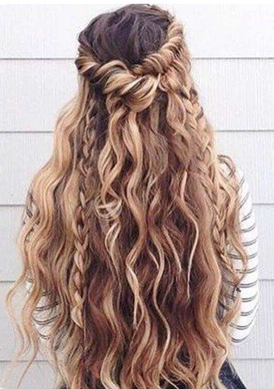 Bohemian Long Braids for Summer 2018