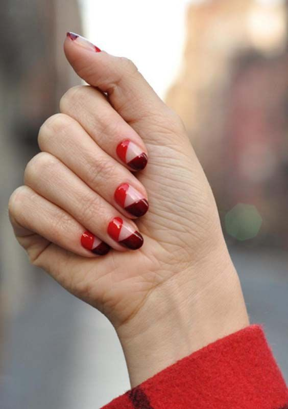 Best Funky Red Nail Art Designs