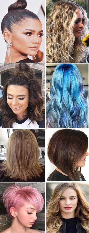 Latest Hairstyles and Haircuts 2018