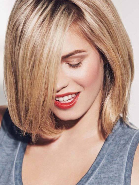 Long Bob Hairstyles Ideas with Bangs for 2018