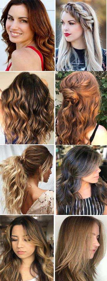 Long Hairstyles Ideas for Women 2018