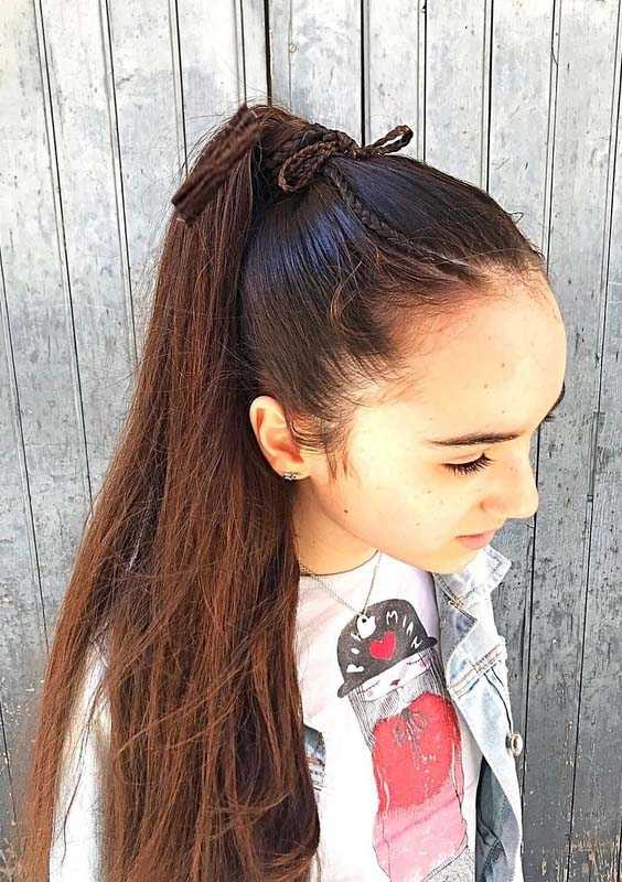 Long Ponytail Hairstyles for Women 2018