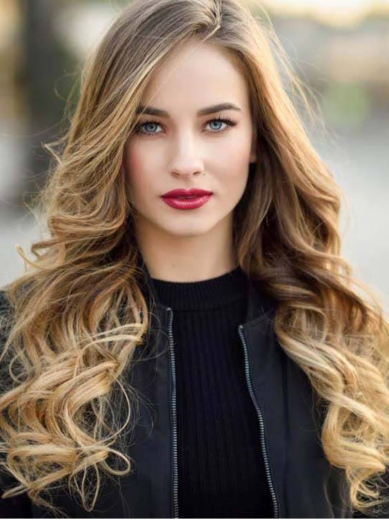 Long Wavy Ombre Hairstyles 2018