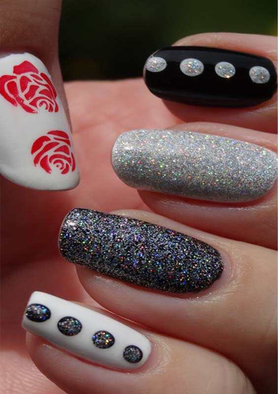 Pearls Jelly Nails Designs Ideas for Women