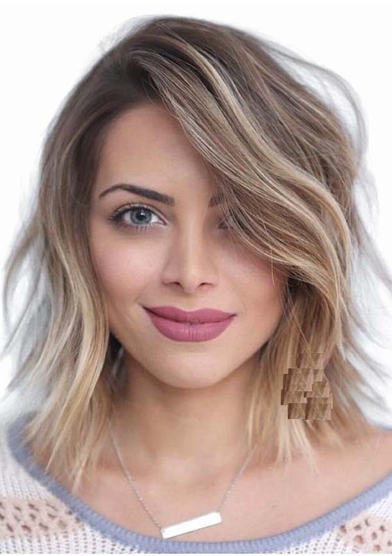 Short Shaggy Bob Haircuts 2018