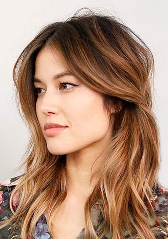 Smooth Shoulder Length Haircuts 2018