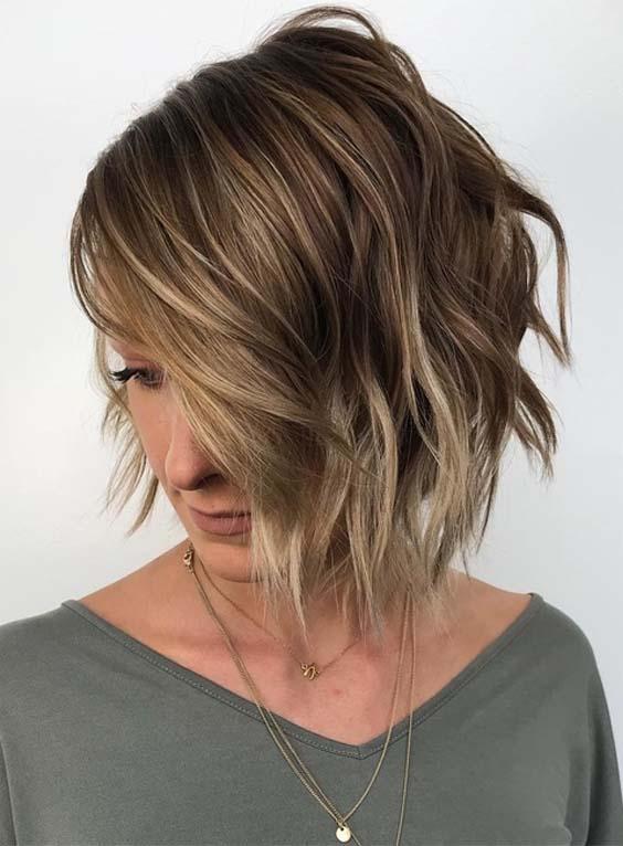 Angled Bob Haircuts to Wear in 2018
