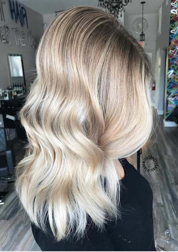 Best Of Blonde Balayage Hair Colors Highlights In 2018 Stylezco
