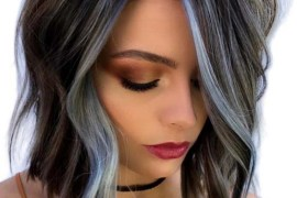 Blue Sky Balayage Bob Haircuts for 2018