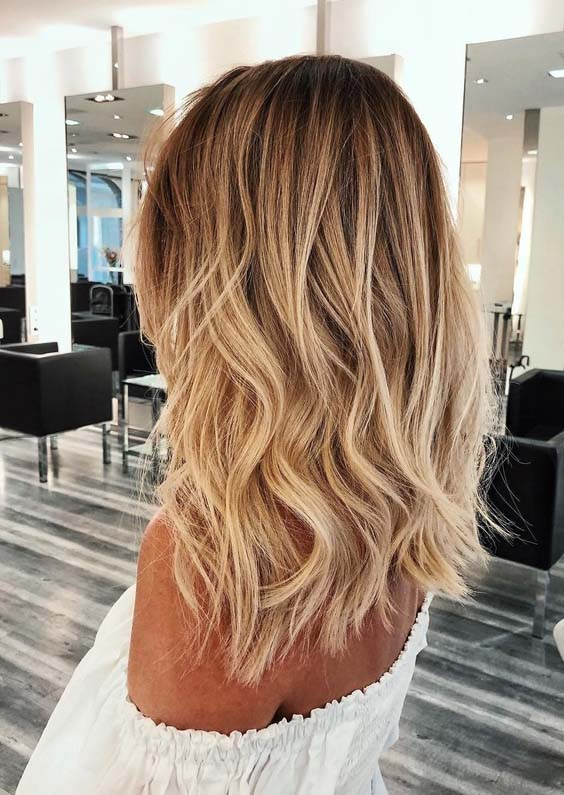 Color Ideas For Bedroom Walls: Gorgeous Golden Blonde Hair Color Ideas For Women 2018