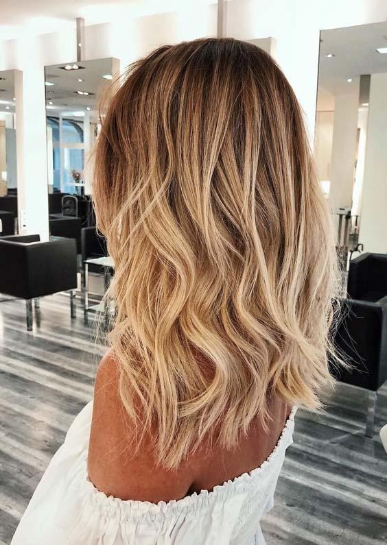 Gorgeous Golden Blonde Hair Color Ideas for Women 2018   Stylezco