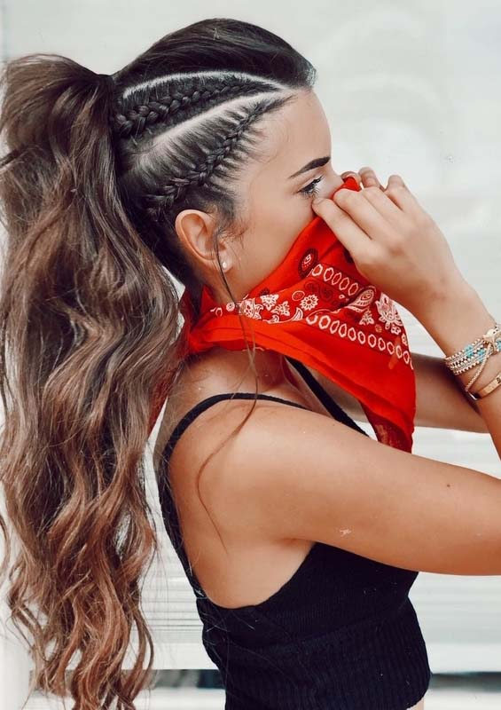 Most Amazing Braided Ponytail Hairstyles in 2018